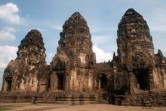 Phra Prang Sam Yod tempel, Thailand Arkivbild