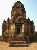 Phra Prang Sam Yod temple. The historical region of thailand Royalty Free Stock Photo