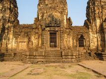 Phra Prang Sam Yod temple. The historical region of thailand Royalty Free Stock Photography