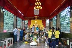Phra Prang Sam Yot Foto de archivo