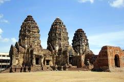Phra Prang Sam Yot Stockfoto