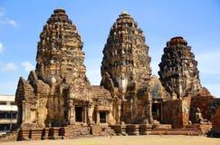 Phra Prang SAM Yot Στοκ εικόνα με δικαίωμα ελεύθερης χρήσης