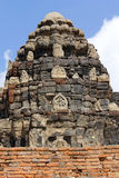Phra Prang SAM Yot Στοκ Φωτογραφία