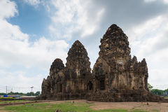 Phra Prang Sam Yot. Ancient remains Lop Buri thailand Stock Photography