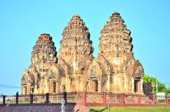 Lop Buri, Thailand : Phra Prang Sam Yot. Royalty Free Stock Images