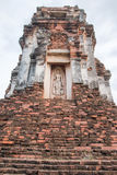 Phra Prang Sam Yot, die Stadt des Affen in Thailand stockfoto
