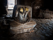 Phra Prang Sam Yot, the Khmer temple in Lopburi, Thailand Stock Image