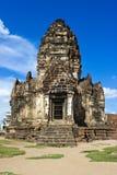 Phra Prang Sam Yot, Lop Buri stockfotografie