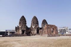 Phra Prang Sam Yot. Stock Photography