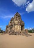 Phra Prang Sam Yot temple, architecture in Lopburi, Thailand Royalty Free Stock Photos