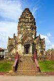 Phra Prang Sam Yot in Thailand Royalty Free Stock Photo