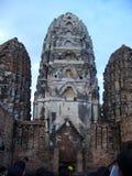 Phra prang-shaped pagoda architecture Royalty Free Stock Photography