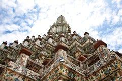 Phra Prang. At temple of dawn, Thailand Stock Photo