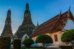Phra Prang Wat Arun. Arkivbild