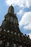 Phra prang of Wat Arun in Bangkok Royalty Free Stock Photos