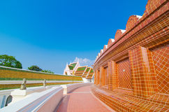 Phra Prathom Jedi, den stora pagodaen Royaltyfria Foton
