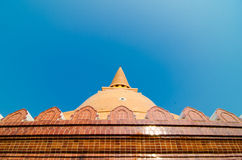 Phra Prathom Jedi temple in thailand Royalty Free Stock Image