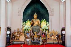Phra Putharoop Srirakhwan på Phra Phathomchedi i Thailand Arkivfoto