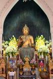 Phra Putharoop Srirakhwan på Phra Phathomchedi i Thailand Royaltyfri Bild