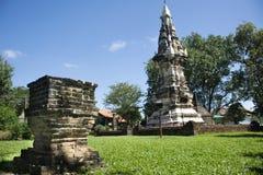 Phra que Kong Khao Noi é um stupa ou um Chedi antigo em Yasothon, Tailândia imagem de stock royalty free
