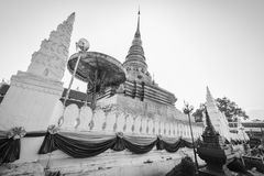 Phra que templo real de Chae Haeng, NaN Tailandia Foto de archivo