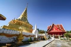 Phra que templo real de Chae Haeng, NaN Tailandia Imagen de archivo