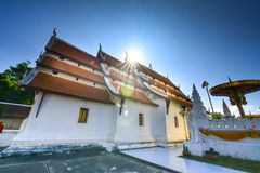 Phra que templo real de Chae Haeng, NaN Tailandia Imágenes de archivo libres de regalías