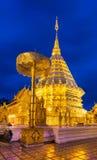Phra quel Doi Suthep Temple Fotografia Stock