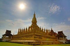 Phra qui luang, Vientiane, Laos images libres de droits