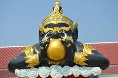 Phra Rahu雕象, 库存图片