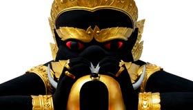 Phra Rahu雕象 库存图片