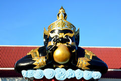 Phra Rahu στην Ταϊλάνδη & x28 Rahu OM jan& x29  στοκ φωτογραφία με δικαίωμα ελεύθερης χρήσης