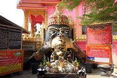 Phra Rahu i Thailand, Rahu det mytiskt av mörker arkivfoto