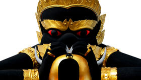 Phra Rahu staty Arkivbilder