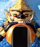 Phra Rahu swallowing the Sun Royalty Free Stock Image