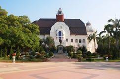 Phra Ram Ratchaniwet宫殿,禁令Puen宫殿, Phetchaburi泰国 免版税库存照片