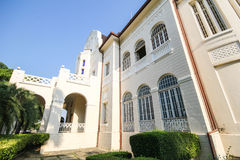 Phra Ram Ratchaniwet宫殿,禁令Puen宫殿, Phetchaburi泰国 免版税库存图片
