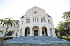 Phra Ram Ratchaniwet宫殿,禁令Puen宫殿, Phetchaburi泰国 图库摄影