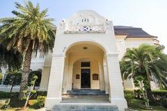 Phra Ram Ratchaniwet宫殿,禁令Puen宫殿, Phetchaburi泰国 库存照片