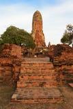 Phra Ram Temple (Wat Phra Ram) fördärvar i landskap av Ayutthaya, Thailand Royaltyfri Foto