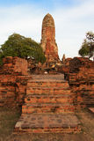 Phra Ram Temple (Wat Phra Ram) ruins in province of Ayutthaya, Thailand Royalty Free Stock Photo