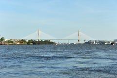 Phra Rama 8 Bridge Royalty Free Stock Images