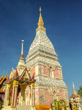Phra That Renu. Located in Nakhon Phanom Province Thailand Stock Photos