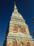 Phra That Renu. Located in Nakhon Phanom Province Thailand Royalty Free Stock Photography