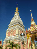 Phra That Renu. Located in Nakhon Phanom Province Thailand Stock Images