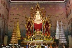Phra Sai Buddha Arkivbild