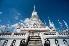 Phra Samut Chedi塔在泰国 免版税库存照片