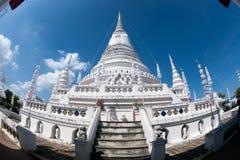 Phra Samut Chedi塔在泰国 库存照片