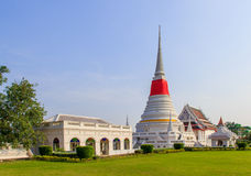 Phra Samut Chedi寺庙 库存图片