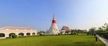 Phra Samut Chedi寺庙 库存照片